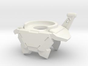 Guardian Armor in White Natural Versatile Plastic