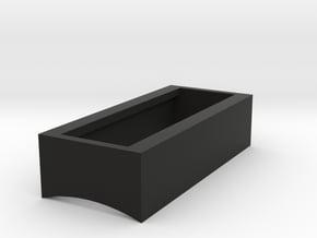 Control Box - BarGraph Surround Box in Black Natural Versatile Plastic