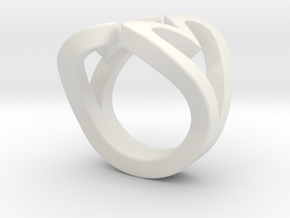 2Hearts size 9 in White Natural Versatile Plastic