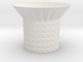 storage bowl  in White Natural Versatile Plastic