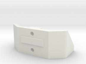 pb Xtruder Mount in White Natural Versatile Plastic