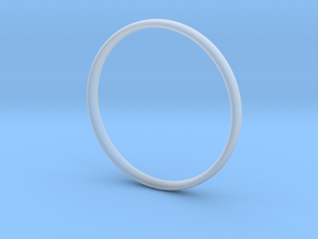 Bangle2 in Smooth Fine Detail Plastic