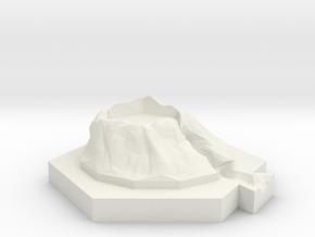 River (ore) in White Natural Versatile Plastic