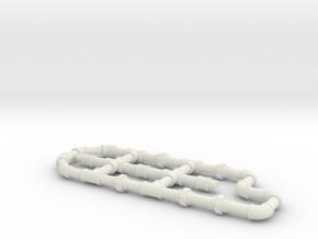 1 5 fittings in White Natural Versatile Plastic