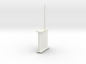 schilling rudder springer v3 in White Natural Versatile Plastic