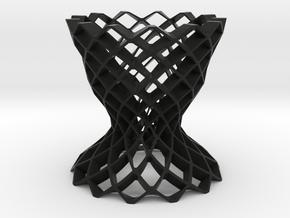 Clutter Vase in Black Natural Versatile Plastic