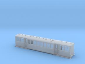 Wismarwagen der MPSB in TTf (1:120) in Smooth Fine Detail Plastic