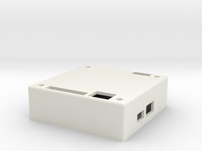 Alexmos brushless gimbal case in White Natural Versatile Plastic