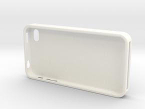 Coque 4S in White Processed Versatile Plastic