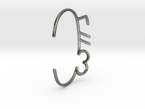 ThreeFN Bracelet - Ladies in Fine Detail Polished Silver