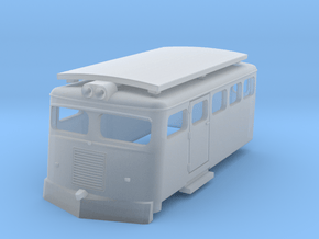 Draisine Chile N scale in Smooth Fine Detail Plastic