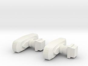 ABH Buffers - Nm - 1:160 in White Natural Versatile Plastic