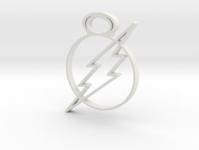flash in White Natural Versatile Plastic