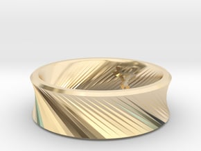 O - Ring / Size 9 in 14K Yellow Gold