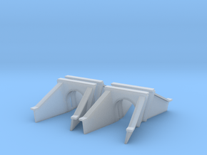 5 Foot Concrete Culvert HO X 4 in Smooth Fine Detail Plastic