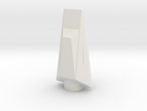 NC-70 (Upscale Orion/Manta) NO Shoulder in White Natural Versatile Plastic