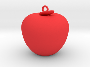 Apple Jewerly in Red Processed Versatile Plastic
