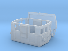 Badoni shunting tractor Abl IV NLR Vedetta Quadra in Smooth Fine Detail Plastic