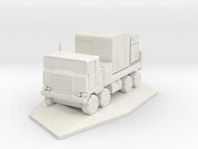 Pershing 1-A PTS/PS Truck in White Natural Versatile Plastic