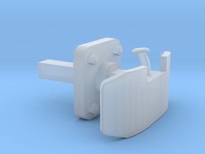 Henschel Lokpuffer, 1:22,5 in Smooth Fine Detail Plastic