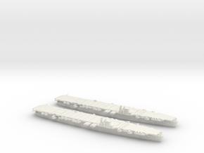 Unryu 1/1800 x2 in White Natural Versatile Plastic
