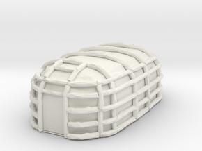 Iroquois LongHouse in White Natural Versatile Plastic
