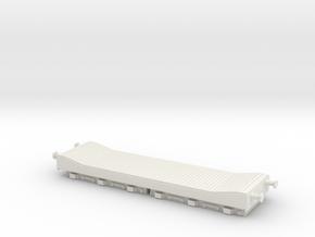 80t Warwell Trolley (FLATROL ELL) in White Natural Versatile Plastic