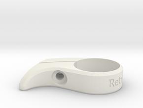 Chain Catcher 28.6mm in White Natural Versatile Plastic