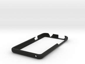 DD - Htc One X - Bumper in Black Natural Versatile Plastic
