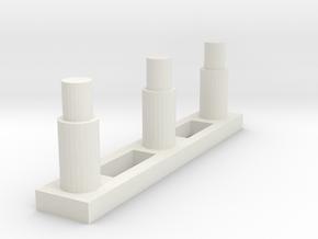 RO90-Linear in White Natural Versatile Plastic