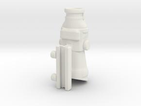 Nerf ACOG scope/sight in White Natural Versatile Plastic