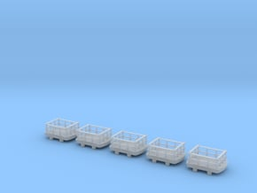 IJ's Nn3 Slate Wagon (5 off) in Smooth Fine Detail Plastic