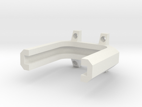 Dillion Tool Head Holder in White Natural Versatile Plastic