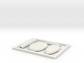 TA 4S avio parts 002 A1 in White Natural Versatile Plastic
