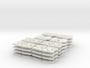 TA 4S avio parts 002 A1 16pcs in White Natural Versatile Plastic