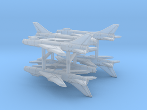 1/700 Su-7BM Fitter (x6) in Smooth Fine Detail Plastic