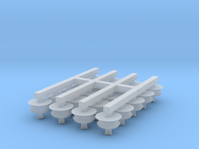 N Scale Pope's Lamps (Pack of 20) in Smooth Fine Detail Plastic