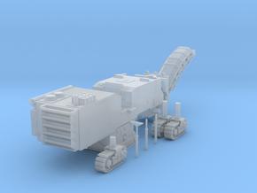 N Scale Road Milling Machine by ScimDIA in Smooth Fine Detail Plastic