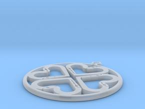 Ciondolo in Smooth Fine Detail Plastic