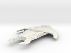 CardassianScout+75mm in White Natural Versatile Plastic