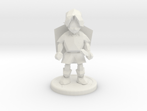 young adventurer trophy in White Natural Versatile Plastic