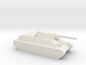 T-34/76 in White Natural Versatile Plastic