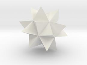 Wolfram Mathematica Spikey in White Natural Versatile Plastic