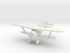 1/144 Polikarpov I-152 in White Natural Versatile Plastic