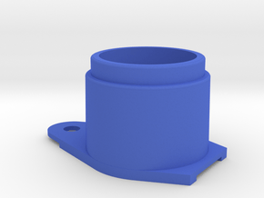 Early Pinball Button Housing (Cut-Off) #B-21018 in Blue Processed Versatile Plastic
