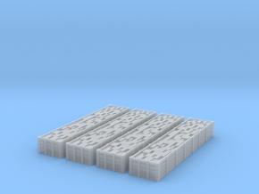 Bogey Bricktrucks 4pack in Smooth Fine Detail Plastic