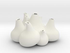 NLpro bulb flowers in White Natural Versatile Plastic