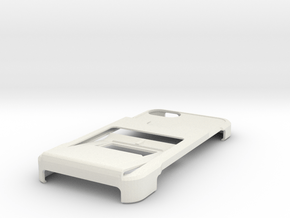 minimalistic iphone 5 case with wallet, clip and k in White Natural Versatile Plastic