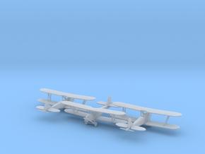 1/285 Polikarpov PO-2 x3 in Smooth Fine Detail Plastic