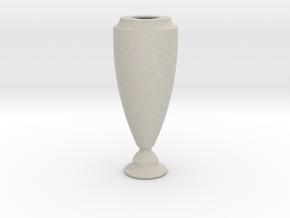 Flower Vase_5 in Natural Sandstone